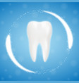 3d realistic clean tooth clearing tooth process