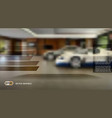blurred interior background vector image vector image