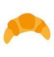 croissant bread icon image vector image vector image