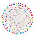 gentleman hat festival sphere vector image vector image