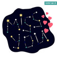 miss you sign vector image vector image