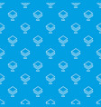 stratis pattern seamless blue vector image vector image