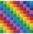 Lego icon Abstract figure Multicolored vector image