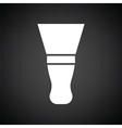 Putty knife icon vector image