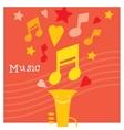 Children creativity and musicality development vector image