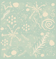 cute hand drawn seamless pattern vector image vector image