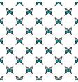papilio palinurus butterfly pattern seamless vector image