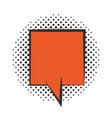 pop art speech bubble comics book halftone style vector image