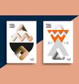 printable scandinavian poster vector image vector image