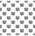 soccer scoreboard pattern vector image vector image