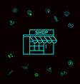store icon symbol graphic elements for your vector image