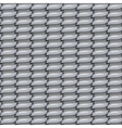 seamless metal fabric background texture vector image