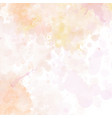 pastel coloured hand painted watercolour texture vector image vector image