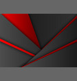 red and black color geometric background abstract