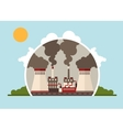 thermal power plants vector image