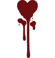 bleeding heart vector image vector image