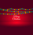 bright holiday background vector image vector image