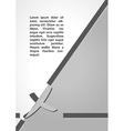 cross symbol dark infographics vector image vector image