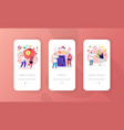 medicine accessibility health care mobile app vector image