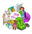 newborn toys hygiene and health care items