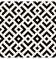 Seamless Black And White Geometric Lines vector image