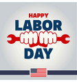 labor day united states of america vector image