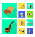 accessories and harm sign vector image vector image