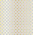 black gold geometric vector image vector image