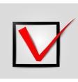 Check icon vector image