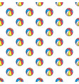 Colorful circus ball pattern