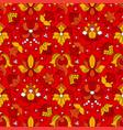 fine vintage floral seamless pattern vector image
