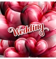 holiday of Wedding label with vector image