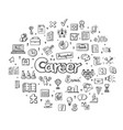 Human resources management infographic concept