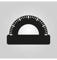 The protractor icon vector image vector image