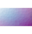 Abstract violet gradient lowploly of many vector image vector image