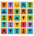 Big set black avards icons vector image vector image