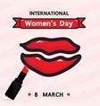 women is day vector image vector image