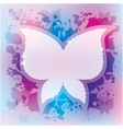abstract background butterfly vector image vector image