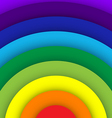Abstract rainbow curve background vector image vector image