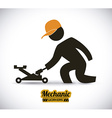 mechanic design vector image