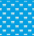 synthesizer pattern seamless blue vector image