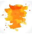 watercolor brush stroke vector image
