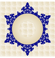 Antique ottoman turkish pattern design fourty one vector image vector image