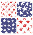 independence day usa seamless pattern vector image vector image