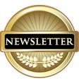 newsletter gold label