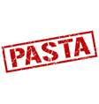 pasta stamp vector image