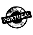 portugal stamp on white vector image vector image