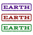 earth watermark stamp vector image