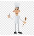 Chef cartoon icon vector image