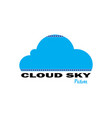 cloud sky pictures vector image vector image